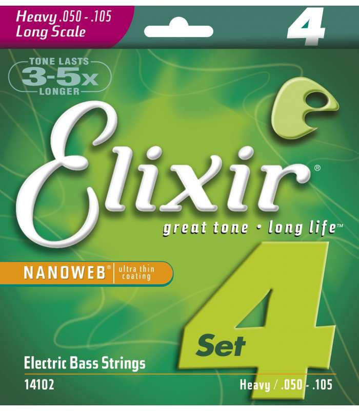 ELIXIR - NANOWEB BASS LONG SCALE HEAVY 50-105