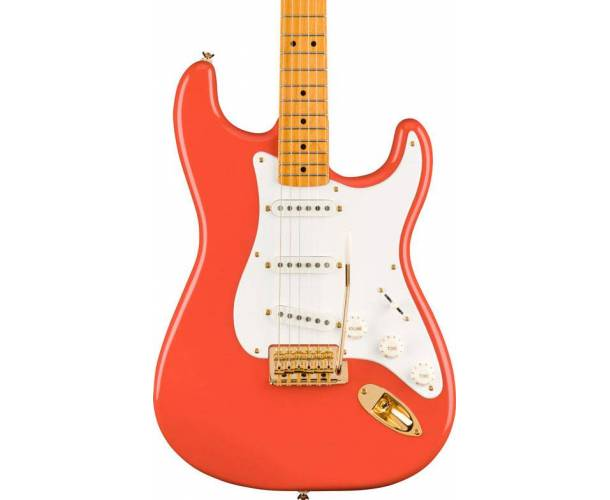 SQUIER - FSR CLASSIC VIBE STRATOCASTER 50s FIESTA RED GOLD HARDWARE