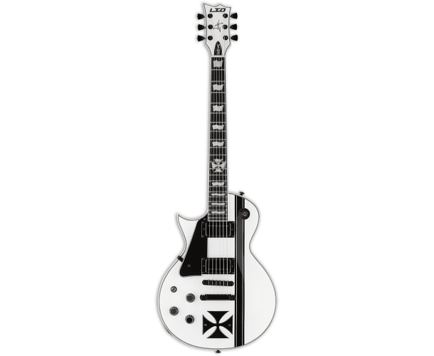 LTD - SIGNATURE JAMES HETFIELD IRONCROSS SNOW WHITE GAUCHèRE