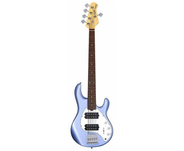 STERLING BY MUSIC MAN - RAY5HH-LBM-R1 STINGRAY5 HH LAKE BLUE METALLIC