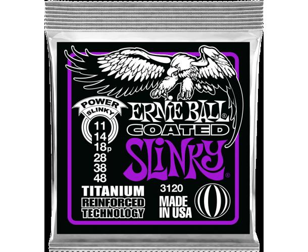 ERNIE BALL - SLINKY RPS COATED TITANIUM 11-48