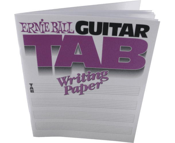 ERNIE BALL - PAPIER TABLATURE GUITARE VIERGE