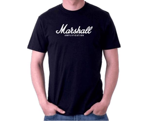MARSHALL - T-SHIRT AMPLIFICATION NOIR (M)