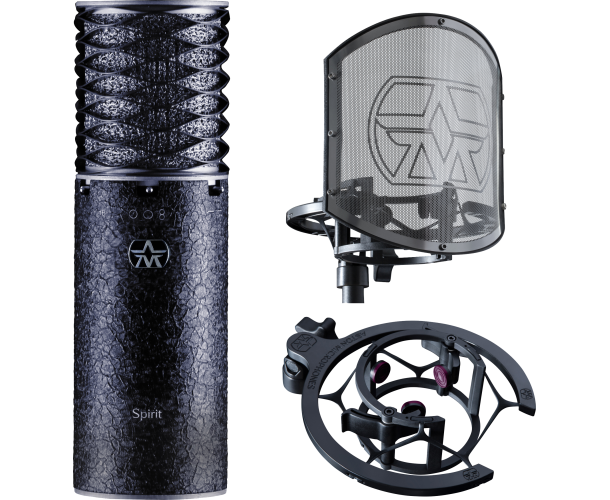 ASTON MICROPHONES - ASTON SPIRIT BLACK LIMITED EDITION + SWIFTSHIELD