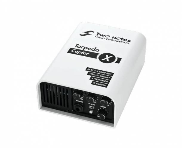 TWO NOTES TORPEDO CAPTOR X 16 OHM VERSION