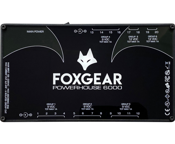 FOXGEAR POWERHOUSE 6000