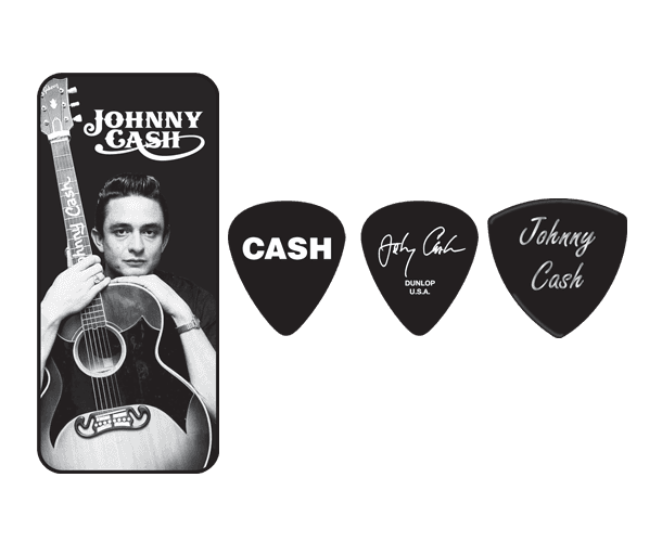 DUNLOP - JOHNNY CASH MEMPHIS MEDIUM BOîTE DE 6