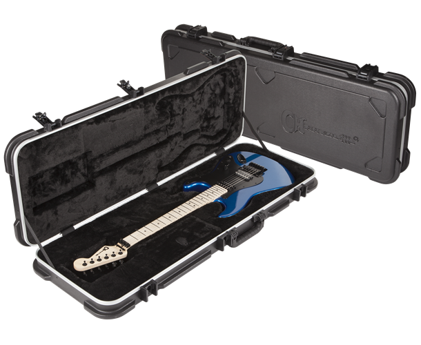 CHARVEL - STANDARD MOLDED CASE BLACK