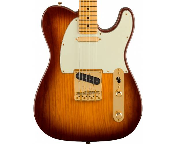 FENDER - 75TH ANNIVERSARY COMMEMORATIVE TELECASTER MAPLE FINGERBOARD 2-COLOR BOURBON BURST