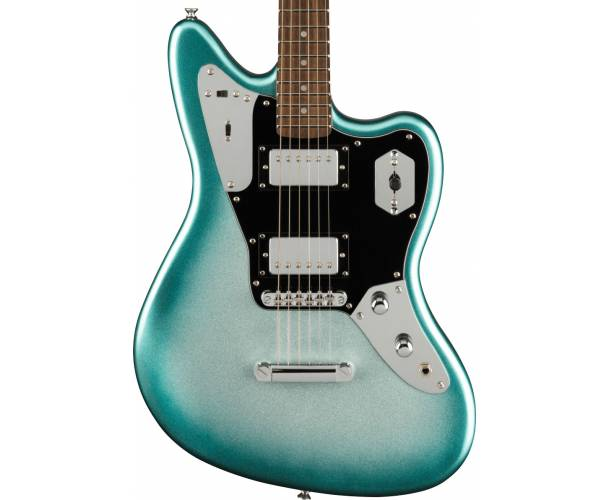 SQUIER - CONTEMPORARY JAGUAR HH ST LAUREL FINGERBOARD BLACK PICKGUARD SKY BURST METALLIC