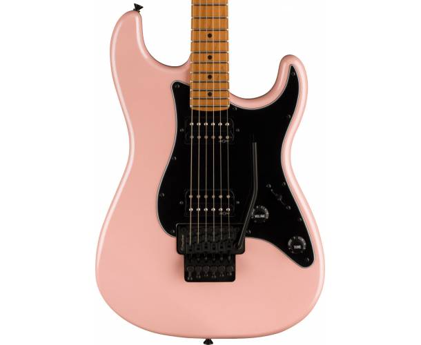 SQUIER - CONTEMPORARY STRATOCASTER HH FR ROASTED MAPLE FINGERBOARD BLACK PICKGUARD SHELL PINK PEARL