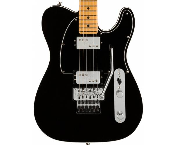 FENDER - AMERICAN ULTRA LUXE TELECASTER FLOYD ROSE HH MAPLE FINGERBOARD MYSTIC BLACK