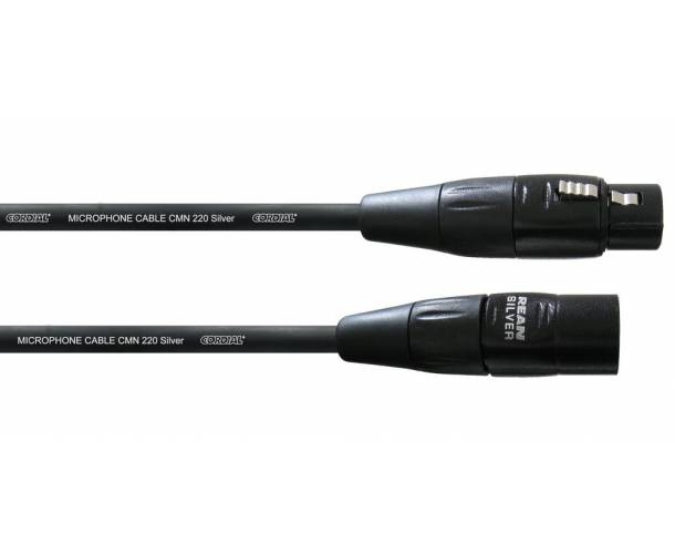 Cordial - câble micro XLR F / XLR M 0.5m INTRO