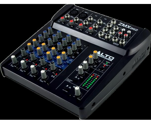 ALTO PROFESSIONAL - ZMX862 MIXEUR COMPACT 6 VOIES