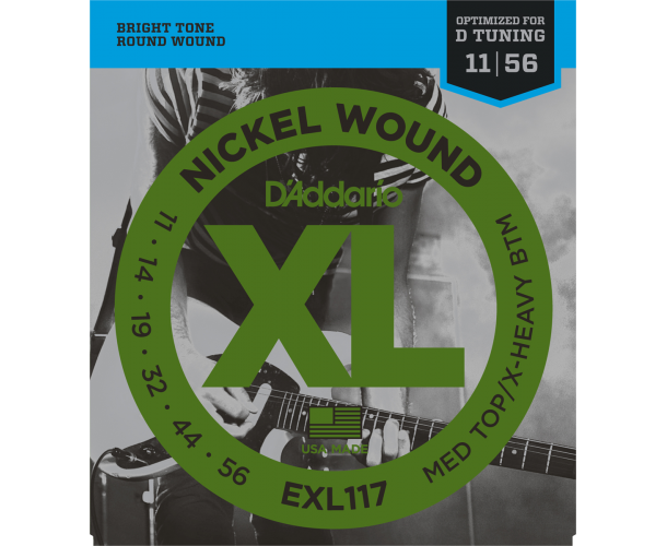 D'ADDARIO - Cordes guitare électrique EXL117