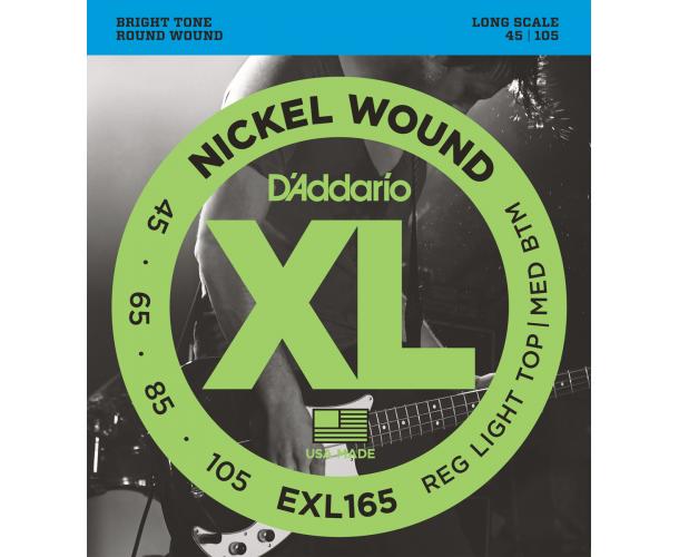 D'ADDARIO - Cordes guitare électrique EXL165