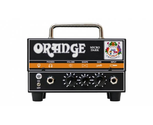 ORANGE - TÊTE 20W MICRO DARK, HYBRIDE 1X12AX7
