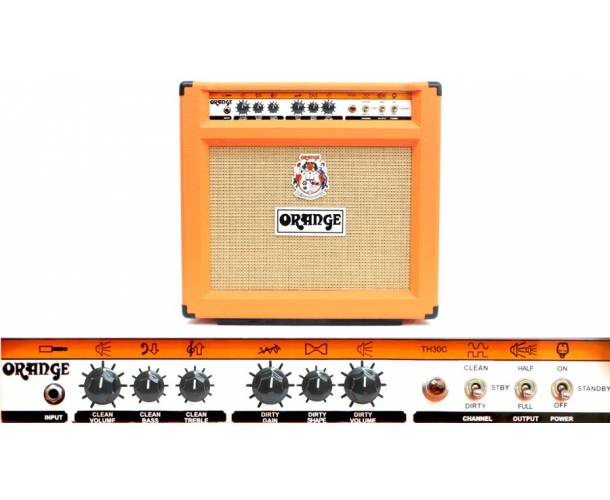 ORANGE - THUNDER 30W, COMBO GUITARE TH30C