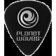 PLANET WAVES - 10 MEDIATORS CELLULOID NOIR ,50MM