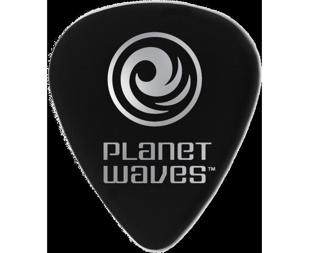 PLANET WAVES - 100 MEDIATORS CELLULOID NOIR ,50MM