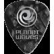 PLANET WAVES - 100 MEDIATORS CELLULOID NOIR NACRE 1MM