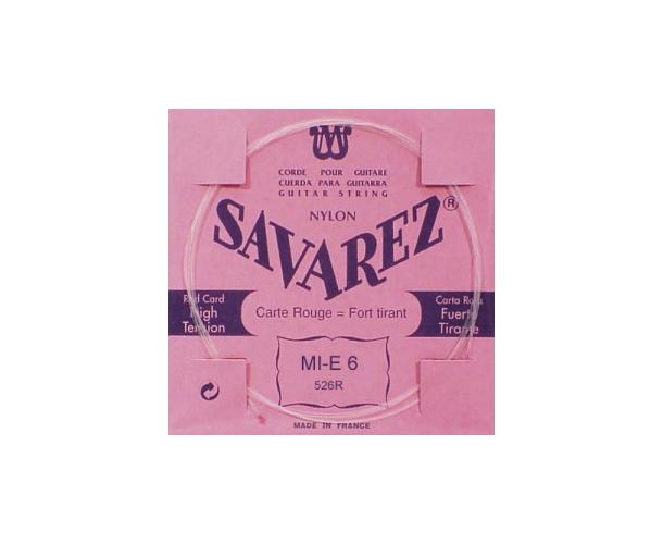 SAVAREZ 526R - MI-6 ROUGE FILEE M/AR