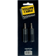 YELLOW CABLE - AD06 ADAPTATEUR JACK STEREO MALE 3.5 / JACK 6.35 STEREO FEMELLE (LA PAIRE)