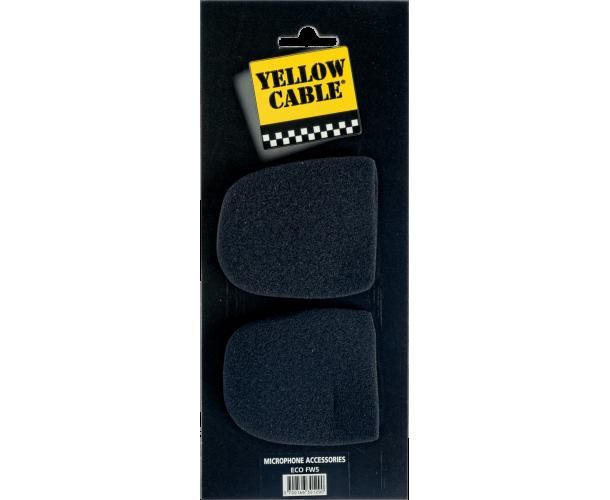 YELLOW CABLE - FW5 BONNETTES MICRO (LA PAIRE)
