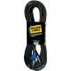 YELLOW CABLE - CABLE HP SPEAKON/J MONO MALE 9M