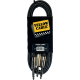 YELLOW CABLE - K05-3 CORDON 2X JACK MONO MALE/JACK MONO STEREO 3M