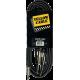 YELLOW CABLE - K07M-3 CORDON JACK MALE STEREO 3.5/ 2X JACK MALE MONO 3M