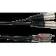 YELLOW CABLE ? K09-3 CORDON 2X XLR MALE/2 RCA MALE 3M