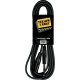 YELLOW CABLE M05JX JACK MALE/XLR MALE 5M