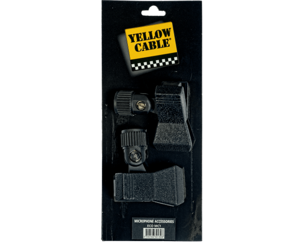 YELLOW CABLE ? MC1 2 SUPPORTS MICRO PINCE (LA PAIRE)