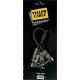 YELLOW CABLE - P020C RACCORDS JACK / JACK 20 CM COUDES (LA PAIRE)