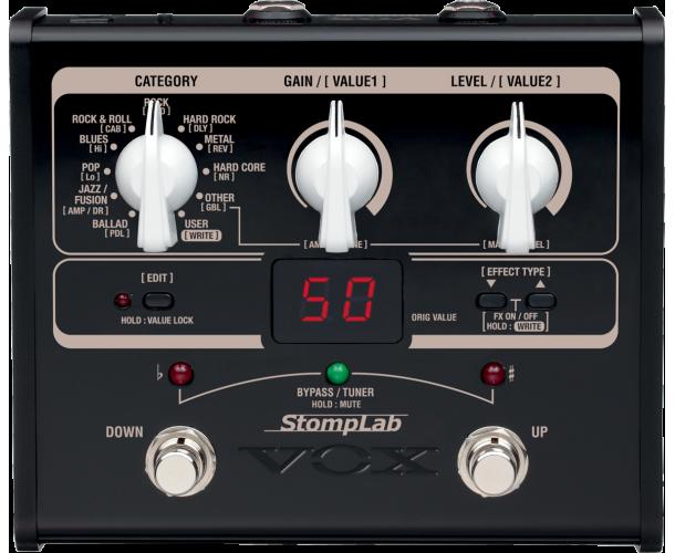 VOX - SLG1G STOMPLAB 1 GUITARE