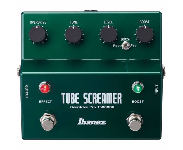 IBANEZ - TS808DX Tube Screamer Overdrive + Booster