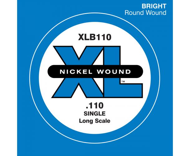 D'ADDARIO - XLB110 CORDES BASSE UNITÉ 0.110