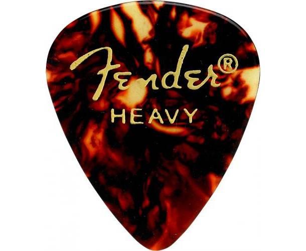 FENDER - 351 Shape Premium Picks Heavy Shell 12 Count