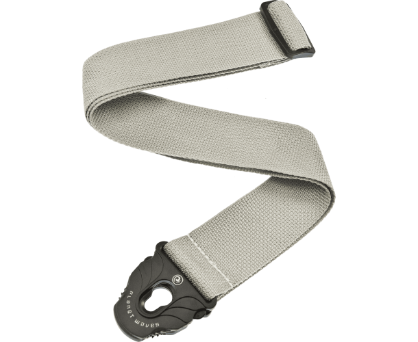 PLANET WAVES - COURROIE POLY P.LOCK SILVER
