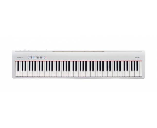 ROLAND - FP30 PIANO NUMERIQUE BLANC