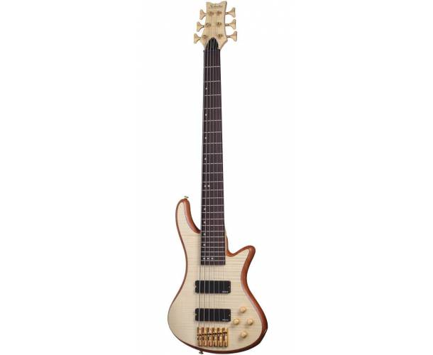 SCHECTER - STILETTO CUSTOM BASSE 6 NATURAL