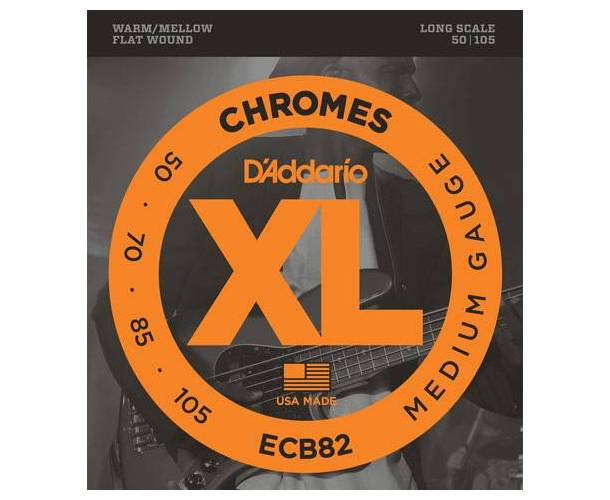 D'ADDARIO ECB82 CORDES GUITARE BASSE LONG SCALE