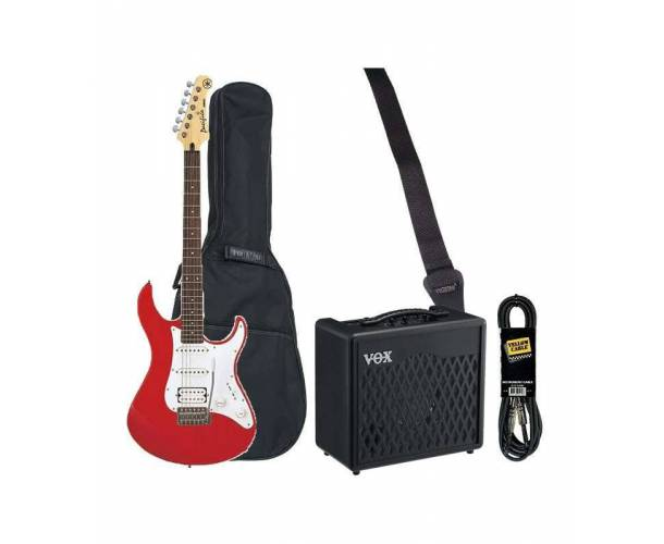 PACK ELECTRIQUE YAMAHA PACIFICA RED